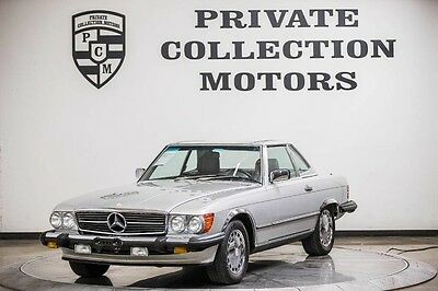 1989 Mercedes-Benz SL-Class  1989 Mercedes Benz 560SL Convertible Clean Carfax Pristine Low Miles
