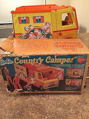 1970 Barbie County Camper Playset