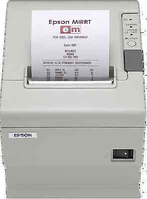 Epson TM-T88II-011 POS Serial Port Thermal Receipt Printer With Power Supply