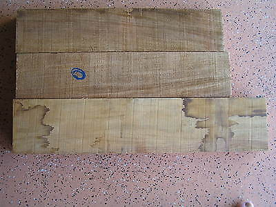 New Guinea Rosewood offcuts - 3 pieces