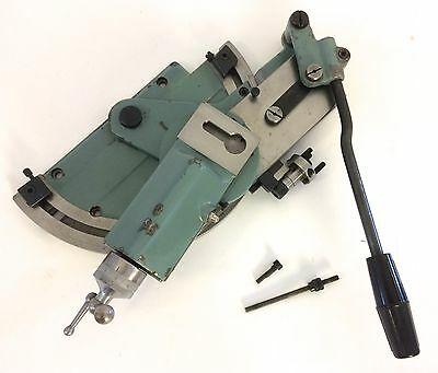 Beautiful Schaublin 70 Lathe Grinding Slide Attachment With Stops