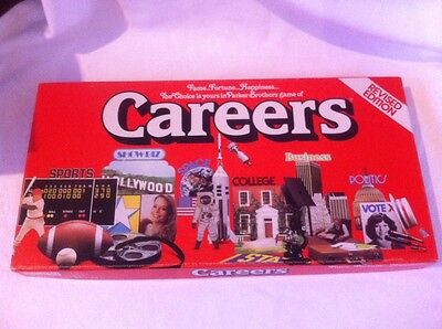 Careers Vintage Board Game Revised Edition 1979 Parker Brothers complete