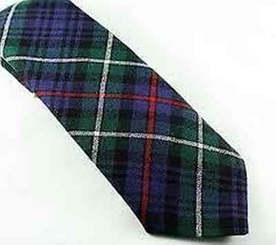Mackenzie Tartan Tie 100% Pure Wool 4 Dressed Shirt Kilt Sporrans Now On Sale