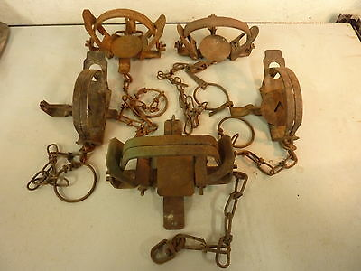 Vintage,Antique,Newhouse,Montgomery,Victor,Trap,Fur,Cabin,Hunting.