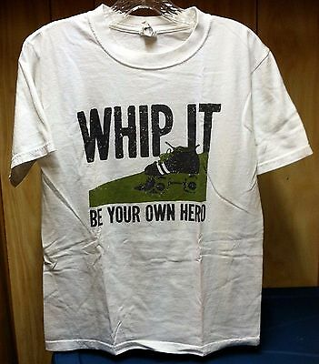 Whip It Be Your Own Hero Small Shirt Roller Derby Film Drew Barrymore Ellen Page