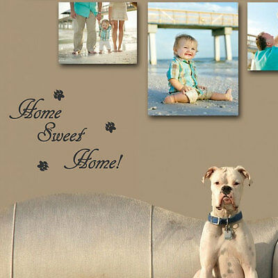 Home Sweet Home Wall Quote Art Stickers Wall Decals 33