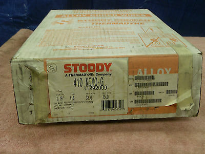"""Stoody 410 NIMO-G 1/16""""  33 lb. roll stainless steel 11292000 new"""