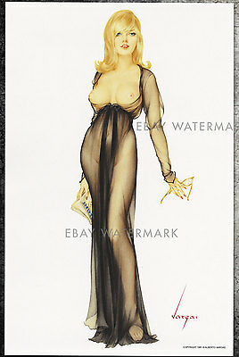 1960's Alberto Vargas Authentic Pin-Up Poster Art Print 11x17 Playboy Cover