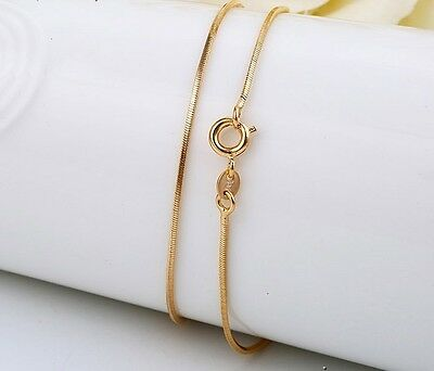 """9ct 9K Yellow """"Gold Filled"""" Baby Girls Kids Unisex NECKLACE CHAIN. L=14"""" ,Gift"""