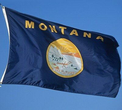NEW 3x5 ft MONTANA STATE OF FLAG
