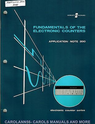 HP Application Note 200 FUNDAMENTALS OF THE ELECTRONIC COUNTERS