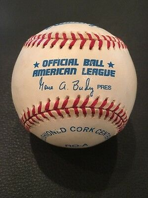 Authentic Official Rawlings Major League Baseball American League MLB Game Ball