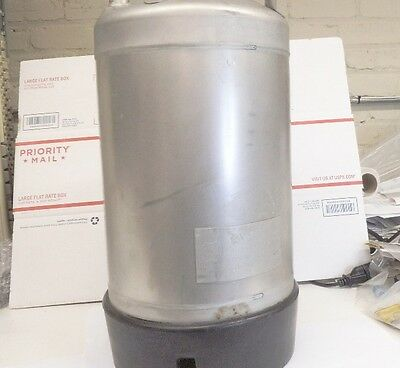 Alloy Products Pressure Vessel T316 stainless, 140 PSI max, 4 gallon, used