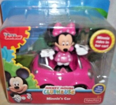Fisher Price Mickey Mouse Clubhouse Minnie's Car & Figure Set 2+