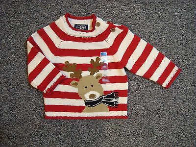 NWT Children's Place Boys' Christmas Sweater Size 0-3 Months