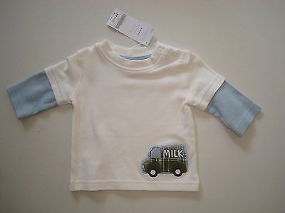 NWT Gymboree Boys' Long Sleeved Tee Size 3-6 Months