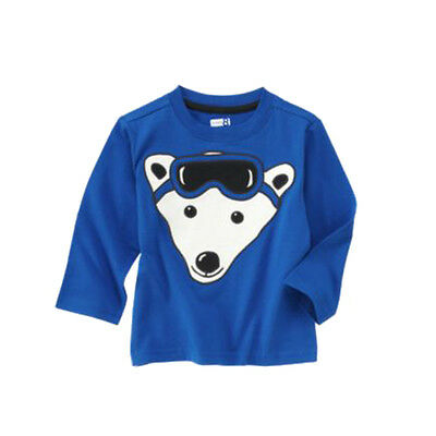 NWT Crazy 8 Boys' Long Sleeved Tee Size 4T