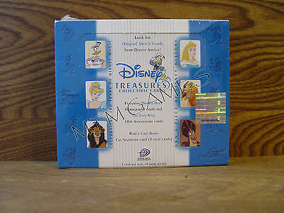 Upper Deck Disney Treasures Series 2 Trading Card Box, New Sealed - Very HTF