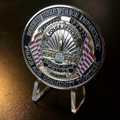 Beverly Hills Police Department California Challenge Coin