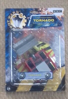 """Carded Bbc Robot Wars """"tornado Pullback Robot """" As Issued,unopened,unused"""