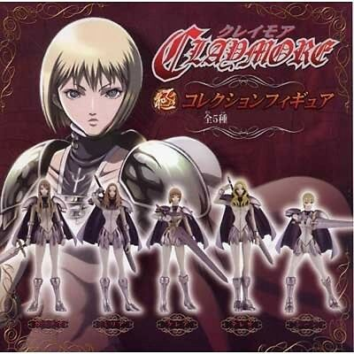 Claymore Japan Anime Game Figure CLARE Collection 5 Full Set JP Limited Rare