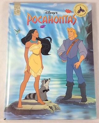 Walt Disney's Pocahontas Hardcover 1995 Mouse Works Classic Storybook Collection