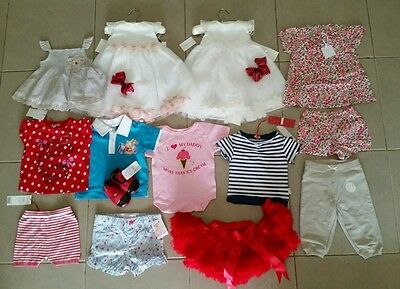BULK!!! Baby Girls Clothes All Brand New - Size 0- Closing Down Sale!!!