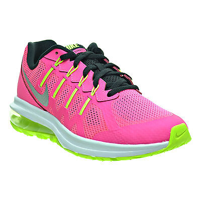 Nike Air Max Dynasty Gs Pink/black/silver/ Neon Women Girls Youth Sizes 5.5