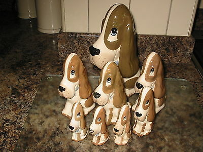 8 Assorted Sizes Szeiler Dogs, Wonderful Collection Cute Faces