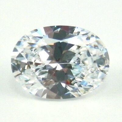 2CT 9x7 OVAL CUT D Color My Russian Diamond Simulated Lab Created Loose Gemstone