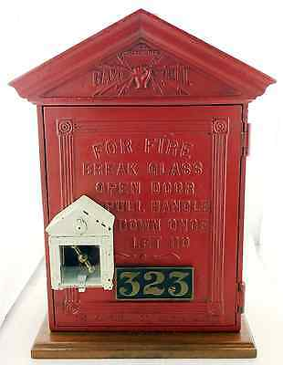 Antique Gamewell Cast Iron Fire Alarm Call Box