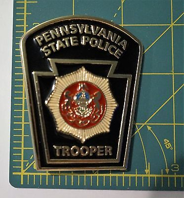"""Pennsylvania State Police Trooper """"Patch"""" Belt buckle"""