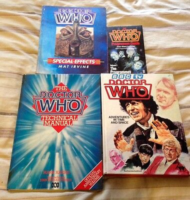 early 1980's Doctor Who books bundle