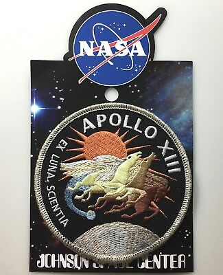 NASA APOLLO XIII 13 MISSION PATCH Official Authentic SPACE 4in Made in USA si