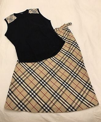 Authentic Burberry bundle - skirt & t-shirt - both rarely used