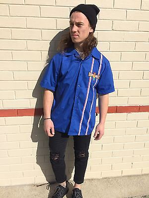 Vintage The Simpsons Bowling S/S Shirt