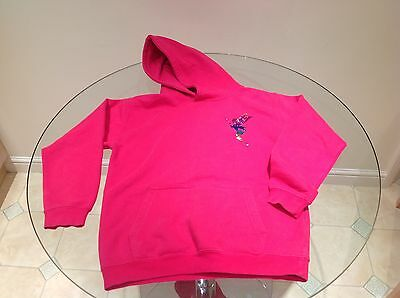Girls Pink Hoodie - Lily - 9/11 years