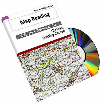 Map Reading Orienteering Navigation Compass Skill Training Course Manual CD Book