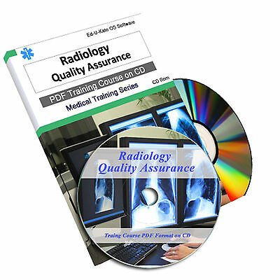 Radiology Quality Assurance Diagnostic XRay Radiography Nurse CD Book Course 121
