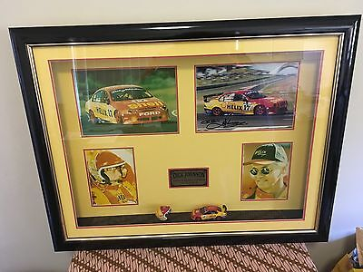 Dick Johnson Limited Edition  Signed Picture With 1 43 Car & Helmet + COA