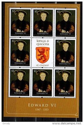 St. Vincent Grenadines 2011 Kings & Queens Of England Edward Vi Mnh