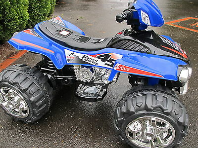 NEW KIDS 12volt Electric Ride-On Quad Bike - AWESOME BLUE