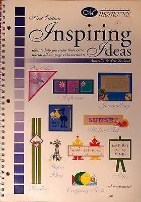 Creative Memories Inspiring Ideas Page Layout and enhancement book