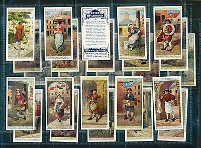 SET – 25 x CRIES OF LONDON (2ND SERIES) – PLAYERS – 1916