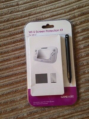 Brand New Wii U Screen Protection Kit Gameware