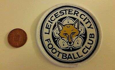 New LEICESTER CITY FC FOOTBALL SHIRT SEW ON BADGE/patch