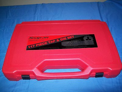 NEW Snap-on™ TDTDM117A 117-piece Master Deluxe Tap and Die Set METRIC & SAE NIB