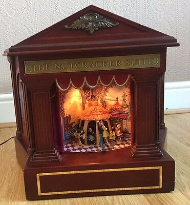 Mr Christmas The Nutcracker Suite Ballet Theater Stage Show Animated Music Box