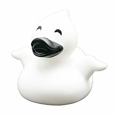 Lilalu 8 x 8 cm/50 g Collector and Baby Ghost Rubber Duck Bath Toy