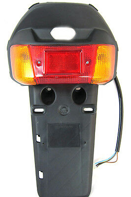 Taillight Tail Light Assembly for 1992-2001 Yamaha JOG 50 CY50 with turn signal
